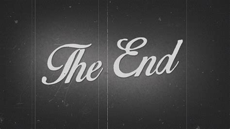 film it is the end the end old film by videoshake videohive