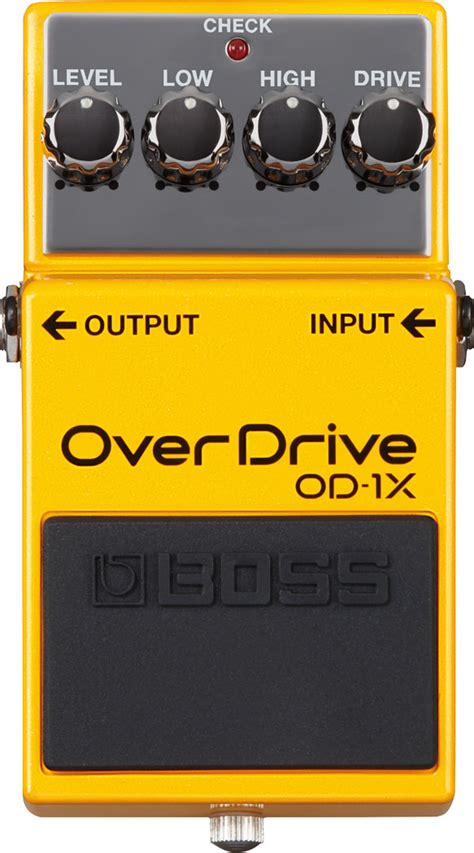 Overdrive Od 1x review of the od 1x overdrive an overdrive pedal with a new look and feel audiofanzine