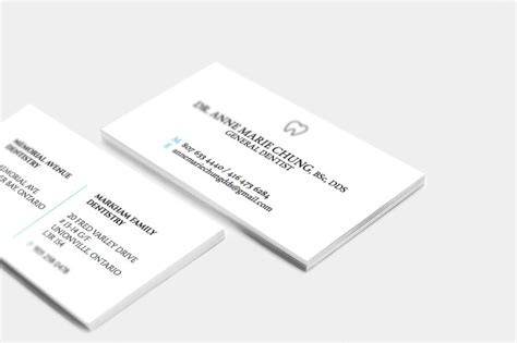business card cheng m