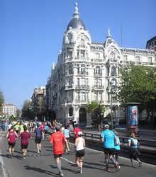 grün karte auto laufreport madrid marathon