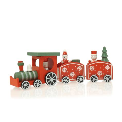 buy traditional christmas wooden train
