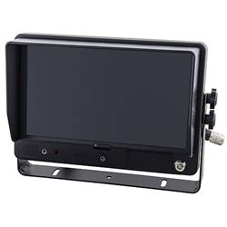 "ibeam touchscreen monitor with dvr (9"" 4 channel"