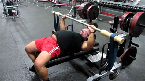 bench press with bar john skelton earthquake bar bench press 90 pounds