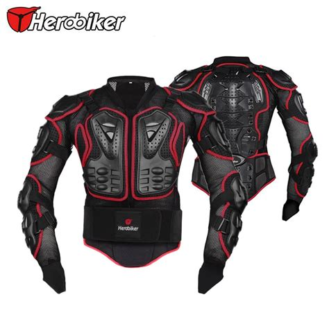 motocross protection motorcycle full body armor jacket spine chest protection