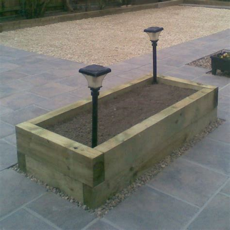 Wooden Sleeper by New Garden Railways Sleepers Green Treated Softwood