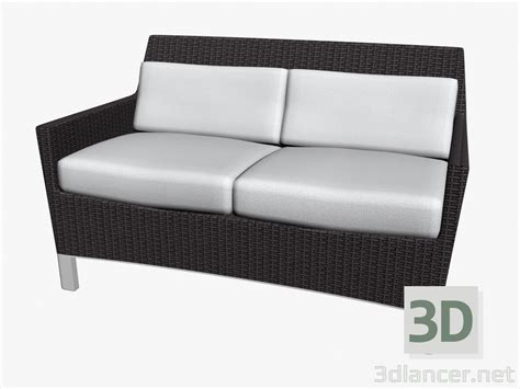 model sofa bed 3d model sofa bed double manufacturer triconfort id 16414