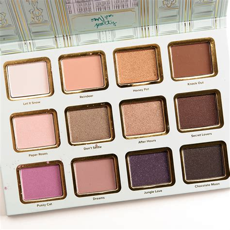 Faced Palette faced la maison eyeshadow palette review photos swatches