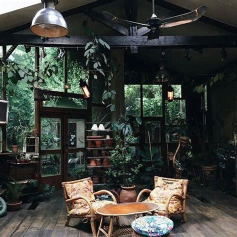 design house decor instagram dark green dirty forest green tropical image