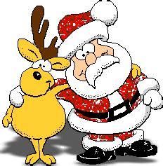 funny glitter santa reindeer animated gif merry christmas funny funny christmas cartoons