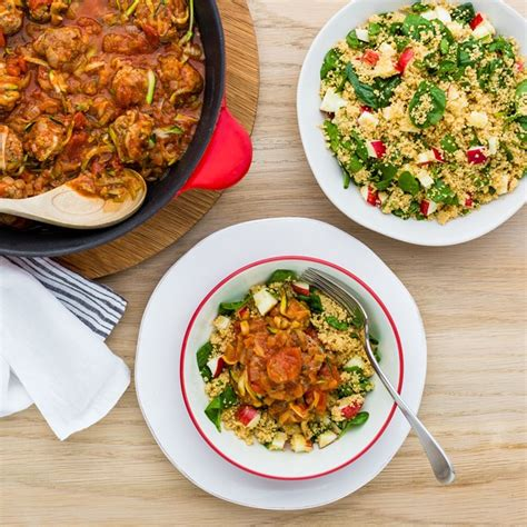 Todays Special Smoked Turkey And Couscous Salad With Lemon Chive Vinaigrette by My Food Bag Lim Recipes