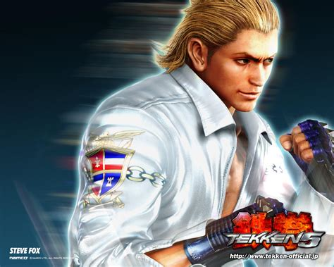 game wallpaper tekken 5 steve fox