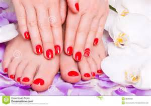 Pedicure Domain Manicure And Pedicure Royalty Free Stock Photo Image