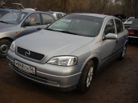 opel astra 2001 2001 opel astra pictures gasoline ff automatic for sale
