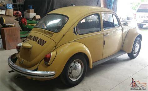 4 Door Vw Bug by Volkswagen Beetle 1972 Bug 2 Door 4 Sp Manual