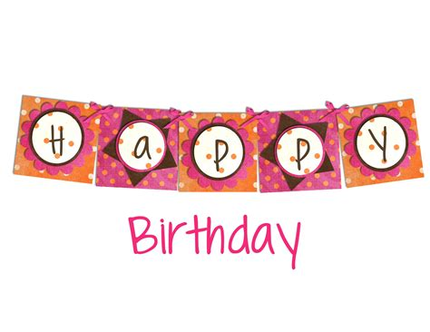 printable birthday banners personalized banner printable images gallery category page 3