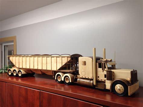 wooden truck wooden peterbilt truck wooden toys