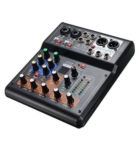 mini  canali audio dj mixer mixer audio mixer  dsp