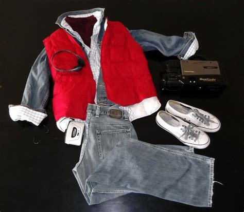 women s marty mcfly costume style scenario the halloween costume party