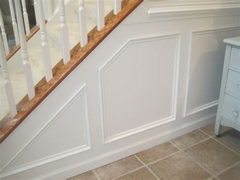 Installing Wainscot by Designed To Dwell Tips For Installing Chair Rail