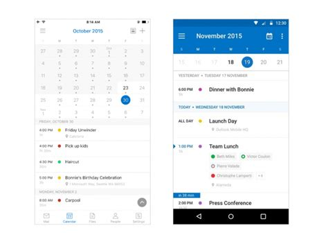 outlook for android mobile microsoft 252 berarbeitet outlook apps f 252 r android und ios zdnet de