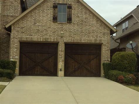 Brown Garage Doors by Wood Garage Door Garage Door Ideas