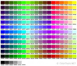 web color websafe color chart colortools net