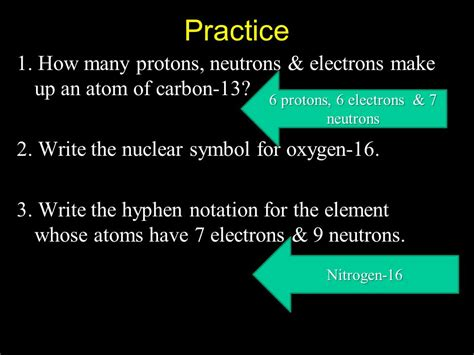 6 Protons 6 Neutrons 6 Electrons by Chapter 3 Atoms The Building Blocks Of Matter 3 1 The