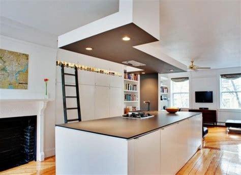 floating kitchen island home design ideas renovations r 233 nover et d 233 corer avec des faux plafonds habitatpresto