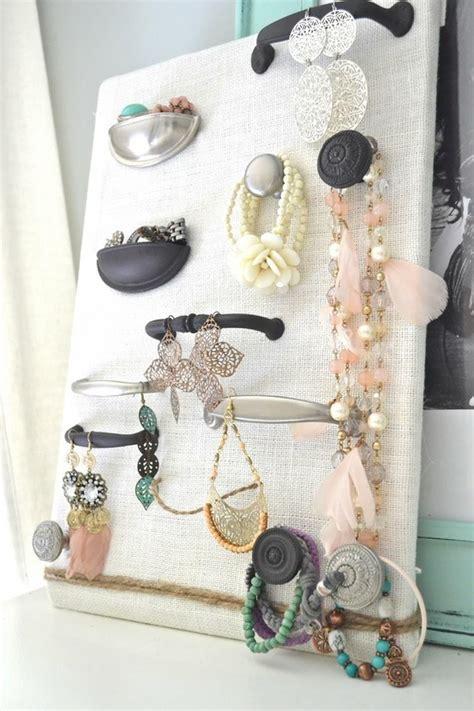 a jewelry holder 21 useful diy jewelry holders