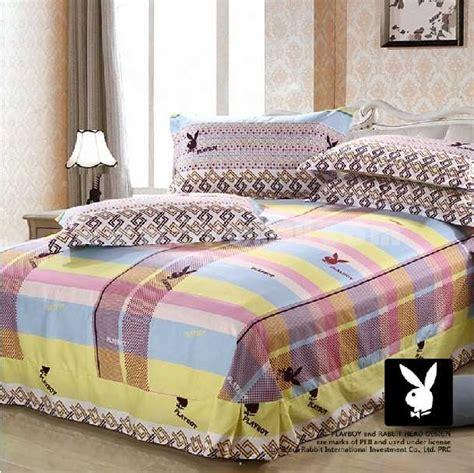 playboy comforter set playboy 4 piece stripes bedding set sygmall