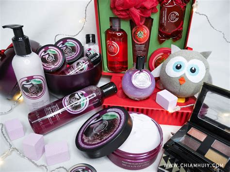 thebodyshop s christmas gift sets 2015 celine chiam
