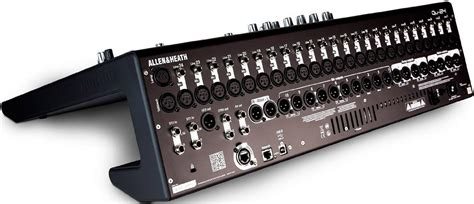 allen and heath console allen heath qu 24 chrome 24 ch digital mixer pssl