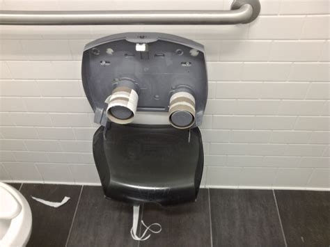 How Do They Make Toilet Paper - empty toilet paper dispensers