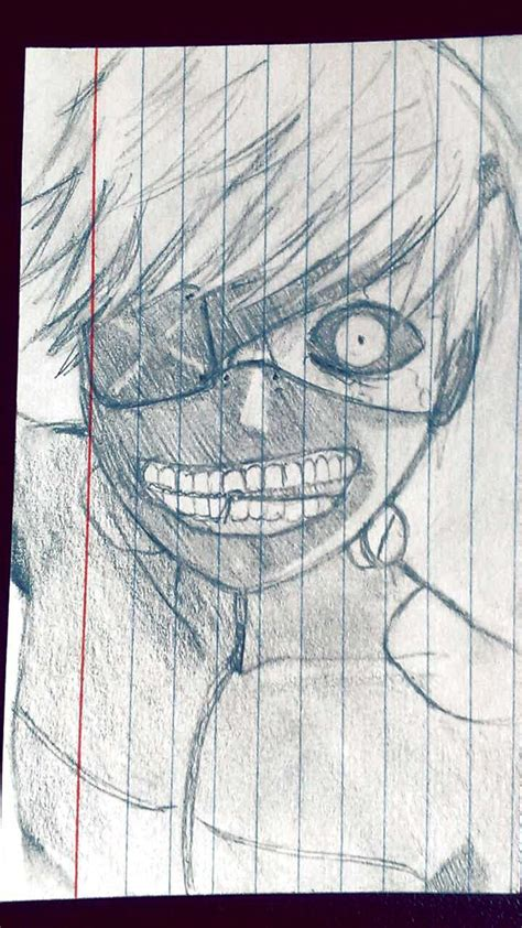 The Eyepatch Ghoul Doodle Wip By Synonym Of Antonym On