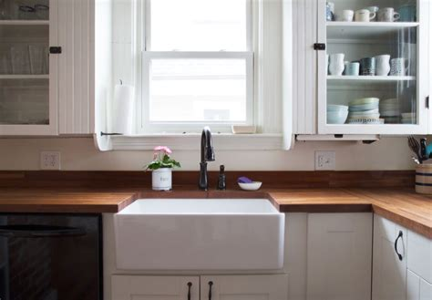 how much is a farmhouse sink pros cons farmhouse apron sink kitchn