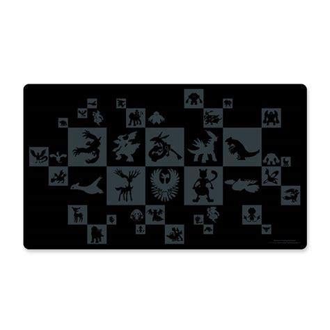 card mat template legendary pok 233 mon pattern playmat pok 233 mon tcg trading