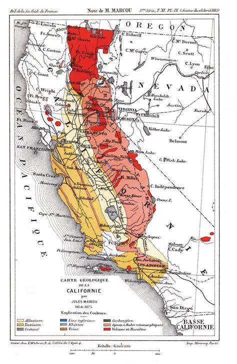 california map facts cgs history geologic maps of california