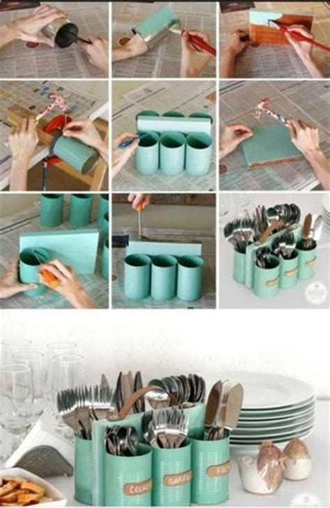 Handmade Things From Waste Material - diy 15 handmade decoration pieces made from waste items