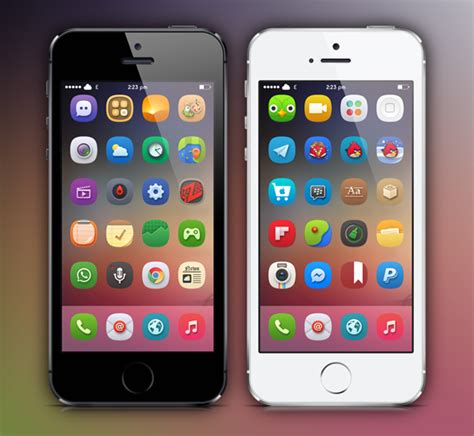 themes on iphone without jailbreaking 10 great winterboard themes for ios 7 jailbreak