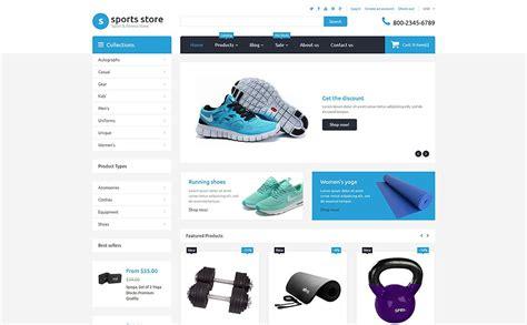 shopify boutique themes th 232 me shopify adaptatif 55732 pour boutique de sport