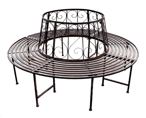 wrought iron tree bench tree seat bench wrought iron round 360 176 216 161cm garden