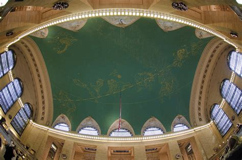 New York Ceiling Revealed New York City S Grand Central Terminal S Best
