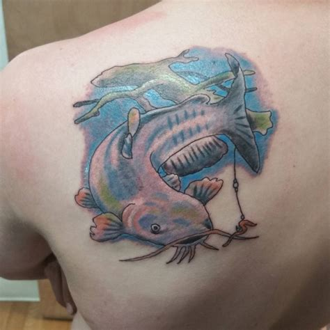 catfish tattoo blue catfish tattoos related keywords blue catfish