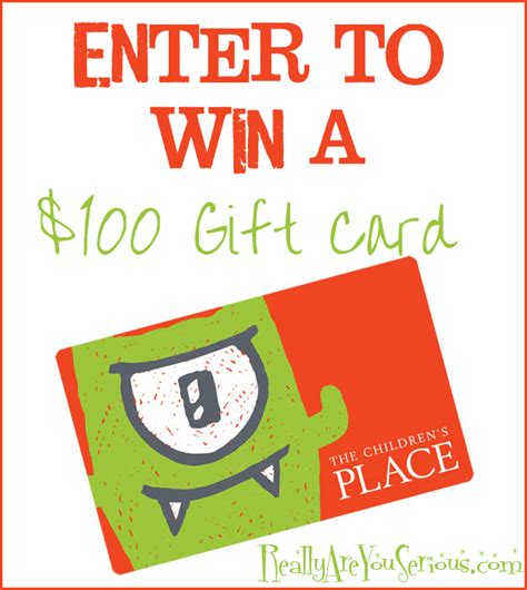 Children S Place Gift Card - back to school in style children s place giveaway