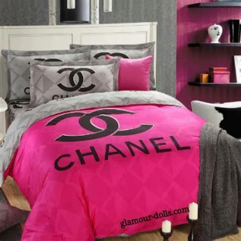 chanel bedding chanel pink grey bedding set king