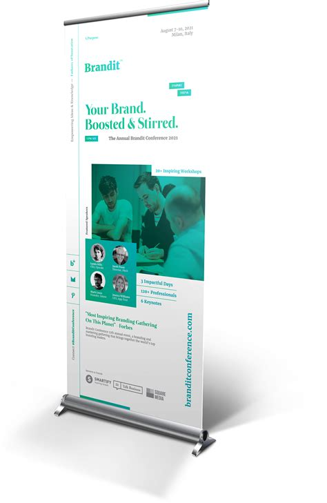 conference banner template event roll up banner templates on behance layout design