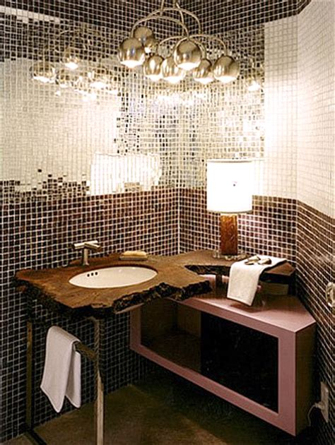 mirrored tiles bathroom stylin tiling erika brechtel