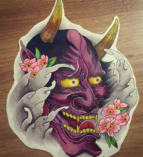 tattoo oriental hanya 25 best ideas about oni tattoo on pinterest japanese