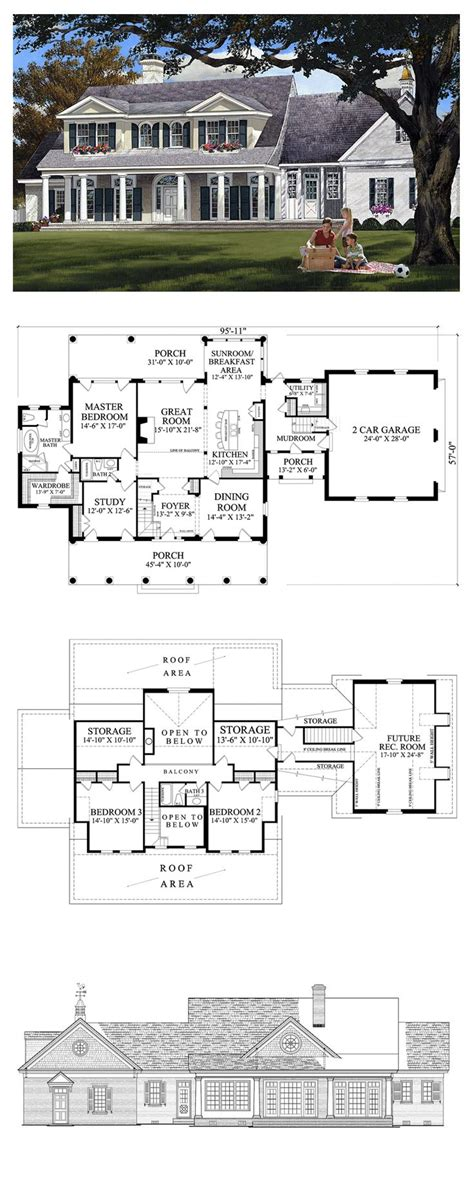 floor plans and elevations bagatelle plantation house
