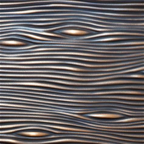 moderne wandverkleidung 2527 wandpaneele optik bronze hochwertige designer